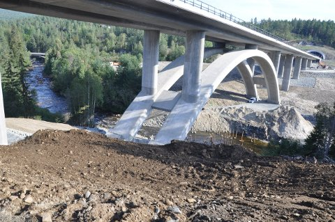 ELVEBREDDEN: Det gjenstår å rydde og planere Elvebredden langs Kobberbergselva