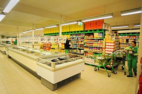 OPPGRADERES: Kjøle- og fryseanlegget på Kiwi Lampeland skal fornyes. Bildet er tatt da butikken framsto i ny drakt i 2012.
