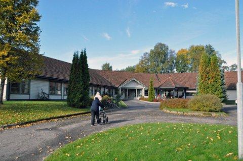 Bygger ut: Kommunen vil bygge ut Hvittingfoss bo- og behandlingssenter slik at det blir større plass til dagsenteret.