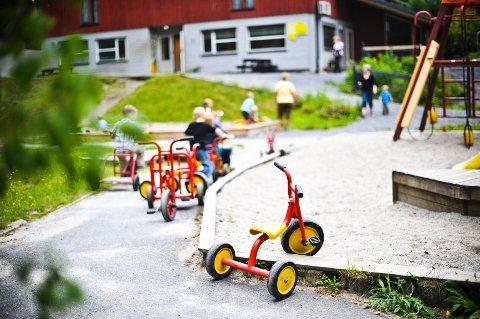 ÅPNES MANDAG: Barnehagene åpnes igjen 20. april.