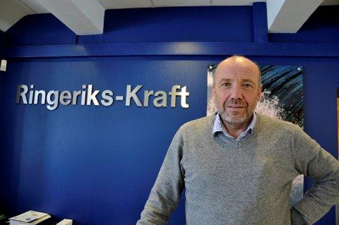 KONSERNSJEFEN: Ole Sunnset er konsernsjef i Ringerikskraft og han kommer på møtet i Lampeland kommende onsdag.