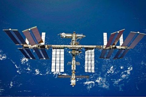I ROMMET: Kongsberg Gruppen leverer teknologi til denne romstasjonen.
