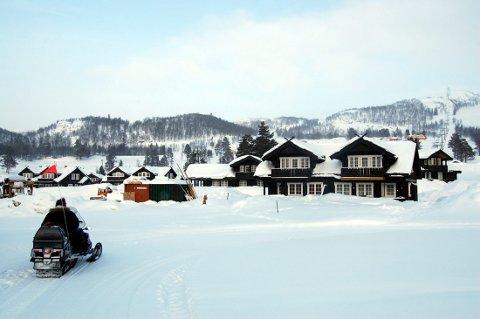FJELLHEIM: Holtardalen er bygd ut med mange hundre hytter over de siste årene. Foto: Dag Tinholt