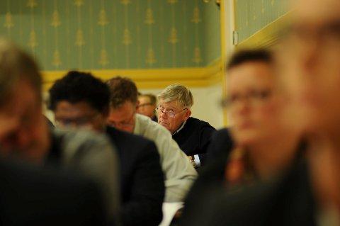 LEDER: Sps Jan O. Stolp er tilbake med en noe større plass i manesjen.