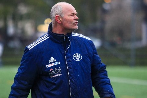 Lier IL-trener Brede Nybraaten.