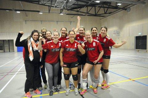 UBESEIRET: Liers volleyballdamer i 2. divisjon er fortsatt ubeseiret etter seks seriekamper.