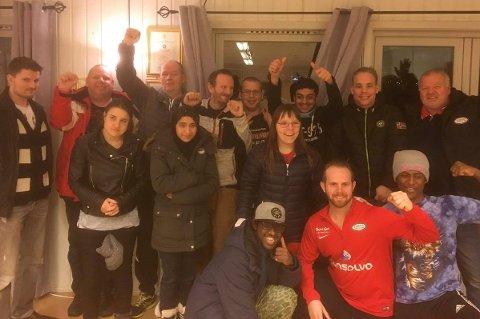 GLEDER SEG: Denne glade gjengen gleder seg til å komme i gang med fotballtreninger fra 16. mars.