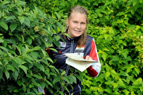 TIL TOPPS: Maren Jansson Haverstad fra Tranby knuste all motstand unde norgesmesterskapet i nattorientering.