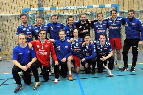 BARE NESTEN: Sylling IFs håndballherrer kunne ha rykket opp til 2. divisjon i går kveld, dersom Falk Horten 3 hadde vunnet over Skarphedin. Det gjorde de ikke.
