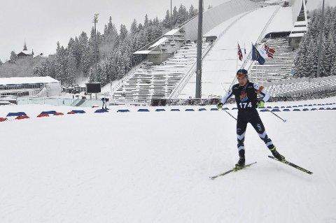 SØLVGUTTER: Mathias Sørnes (avbildet) tok sølvmedalje sammen med Petter Lie, Tobias Slaatto og Vemund Kragh.