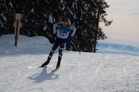 Kristoffer Sørnes måtte gå en ekstra strafferunde, og da glapp medaljen.