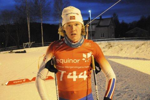 På vei til Finland: Andreas Tronsli fikk billett til junior-VM i Lahti etter solid innsats på Konnerud. Foto: Gjermund Sørstad