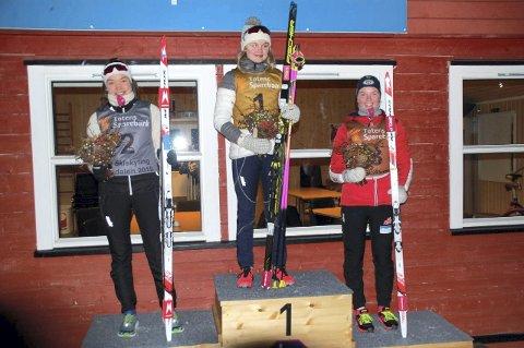 Sterk skyting: Etter fire sterke skytinger og med god fart i sporet ble det til slutt NM-bronse på normalprogrammet i 17-årsklassen for Linnea Winsvold.