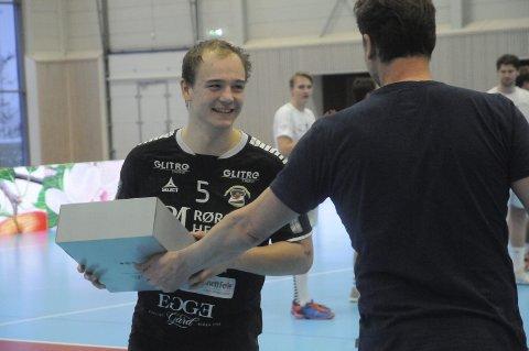 St. Hallvards beste: Viktor Hedin scoret 11 mål mot Vålerenga, og ble kåret til St. Hallvards beste spiller.