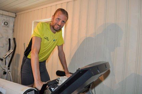 SPREK: For de fleste er nok en 12 timer lang løpetur ganske fjernt, men Gjermund Sørstad skal vise styrke under Lierdagene.