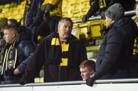 Helt tomt: Rune Brockstedt kan ikke forstå hva som skjedde. LSK ledet 4-0, men slapp inn tre mål og rykker ned til OBOS-ligaen.