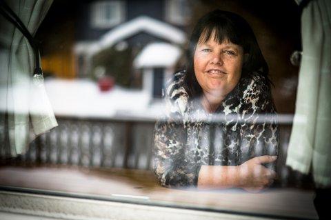 LENGTER UT: Wenche Monsen savner å gå ut alene, men så lenge hun bor på Kløfta så kan ikke 38-åringen gå ut på egen hånd uten at hun roter seg bort.