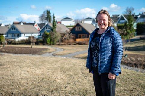 REAGERER: Anette Elseth i Lillestrøm Frp ville at diskusjonen om dommen skulle ankes eller ikke, skulle være åpen. Her på Brånåsdalen.