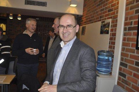 NY SJEF: Svein Ove Haugland er  administrerende direktør i Norges Råfisklag.