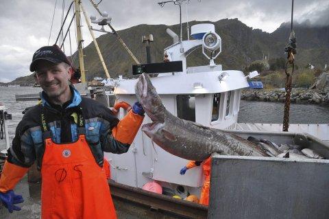 SNUDDE: Ørjan Sandnes er leder av Vestvågøy Fiskarlag, som nå har sagt ja til oppdrettsanlegg på Grænvika