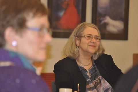 Ordfører Lillian Rasmussen.