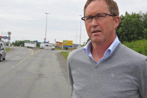 Topp av lista: Terje Wiik står på toppen av lista for Vestvågøy KRF til årets valg.