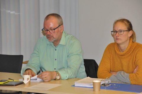 HØYRE UT: – Det blir ingen Høyre-liste i Moskenes, sier Therese Amalie Holtan Larsen. Bjørn Eirik Larsen meldte seg ut for vel to år siden. FOTO: Magnar Johansen
