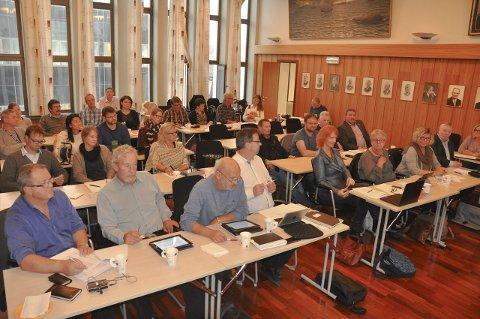 SPLITTET: Vågan Høyre var splittet. Flertallet stemte for å be Olje- og energidepartementet legge vekk konsekvensutredningen for sørlige del av Nordland 6. Initiativet kom fra SV, og fikk også samlet støtte fra Ap (t.h.). – Jeg håper de andre kommunestyrene i Lofoten vedtar det samme, sier Sandberg. foto: Åshild marita Håvelsrud