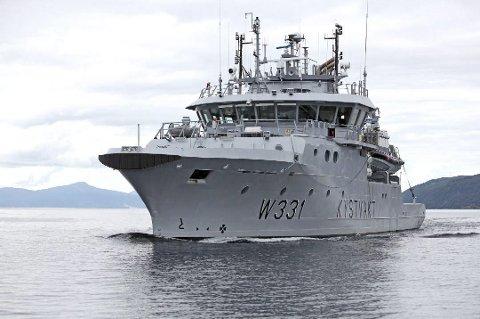 KYSTVAKT: KV «Farm» er en av båtene som kystvakten disponerer. Foto: Ragnar Bøifot