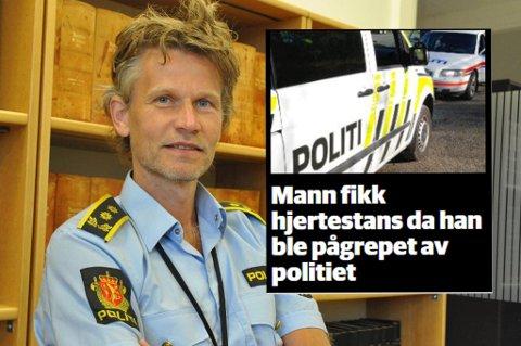 Politiinspektør Steffen Ravnåsen i Midtre Hålogaland politidistrikt.