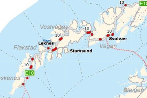 kart stamsund Lofotposten   Her blir det asfalt i 2015! kart stamsund