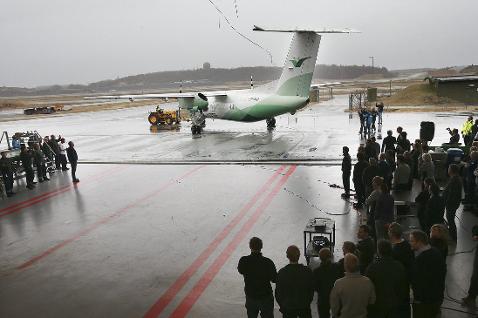 Nummer 16: Erfaringene fra levetidsprosjektet kan utnyttes kommersielt. Det er ikke utenkelig at andre flyselskap vil kjøpe tekniske tjenester i Bodø for oppgradering av sine fly. Foto: Tom Melby