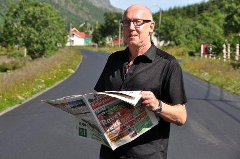 BOKBAD: Fredag blir Odd Klippenvåg først ut under bokbadet på Ballstad.