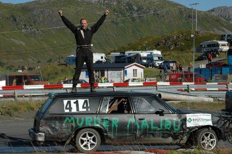 Stian Bakkemo gikk til topps i bilcross senior.