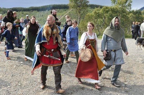 STENGT: Vikingmuseumet er foreløpig stengt fram til 15. juni, og det spøker også for vikingfestivalen.