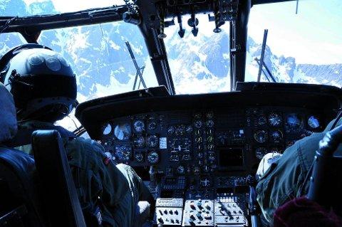 Takket være koordinater kunne ble det enklere for redningsmannskapet å finne dem.