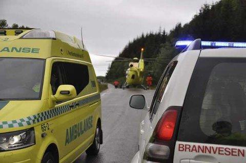En av de fire skadde i bilulykken på Melbu døde av skadene
