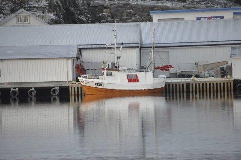 SJARK: Båten er bygget ved Ulvan AS i 1983.