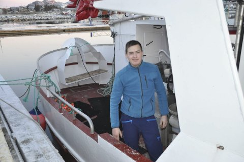 DEKK: -Dette er noe helt annet enn gammelbåten, sier en meget fornøyd Daniel Myklebust.