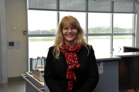 Glad for responsen: Direktør for kommunikasjon og samfunnskontakt i Widerøe, Silje Brandvoll, sier flyselskapet har merket seg en solid positiv respons på de nye direkterutene til Oslo og Tromsø.Foto: Arkiv