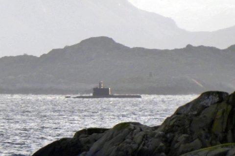 Ubåten observert utenfor Kabelvåg