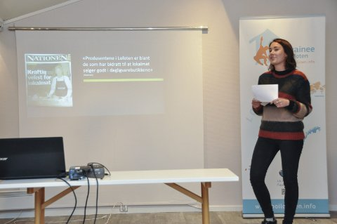 Lykkes: Mari Engh har forsket på levedyktige matnettverk. Hvordan lykkes. Foto: Lise Fagerbakk