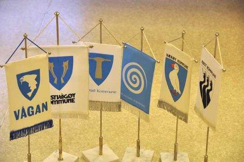 De seks kommunene som utgjør Lofoten seiler i forskjellige retninger