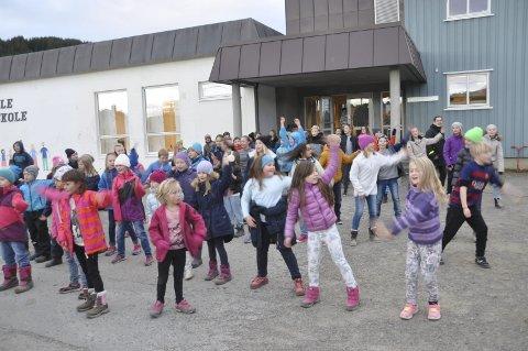 Dans: Fredag var det 5 yil 7.klasse og SFO som danset