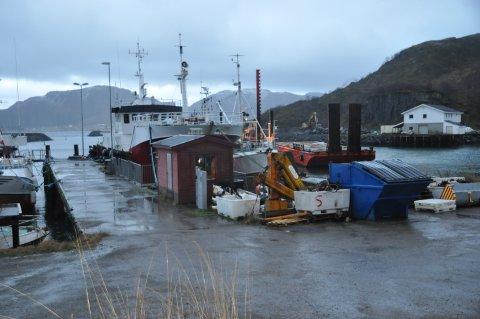 Lofoten Klippfisk AS får leie sørsiden  av den gamle fergekaia på Napp.
