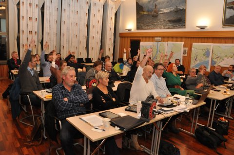 Her stemmer flertallet i Vågan kommunestyret for å si nei til konsekvensutredning av havområdene utenfor