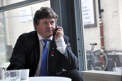 Ekom: Vågan-ordfører Eivind Holst (H) kan glede seg over at Nasjonal kommunikasjonsmyndighet i romjula sendte kommunen godkjenning som forsterket Ekom-kommune.