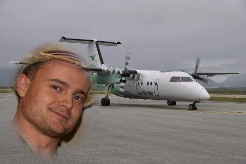 Rune Tveiterås fikk en overraskende vri på en hjemreise til Lofoten.