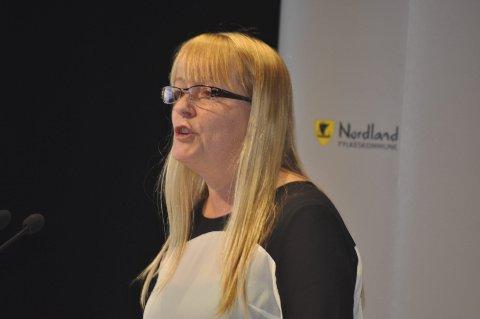 JA TIL DET MESTE: Bente Anita Solås og Nordland Høyre fikk ikke fylkestinget med på konsekvensutredning av LoVeSe.