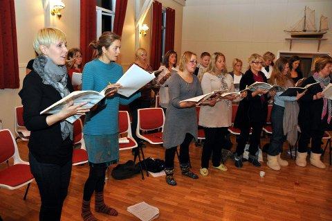 Korsang: Under de mange arrangementene i tidsrommet 9.-12juni vil blant andre Lofoten Voices opptre. Foto: Åshild Marita Håvelsrud.